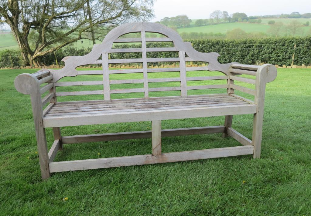 Original antique Vintage teak bench are available to buy from UKAA