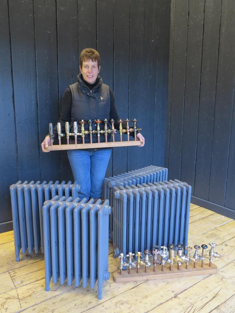 Cast Iron Radiators and traditional radiator valves are made by Carron and Sold Worldwide by UKAA