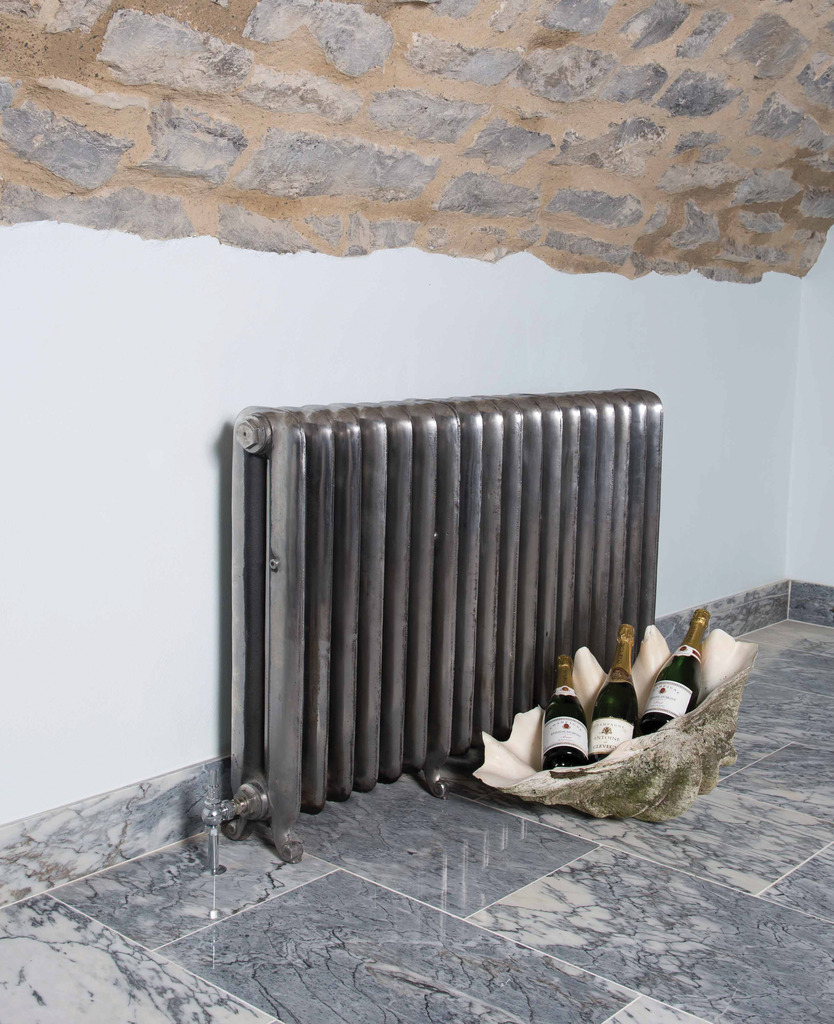 Cast Iron Hand Burnished 2 Column Duchess Radiator made by Carron and Sold Worldwide by UKAA