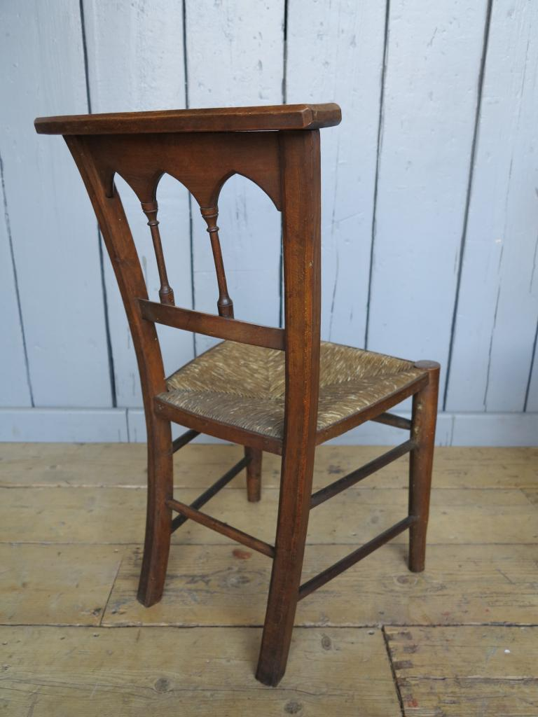 3 Available Antique Rush Seated Church Chairs Kitchen Dining Chair Pads EBay