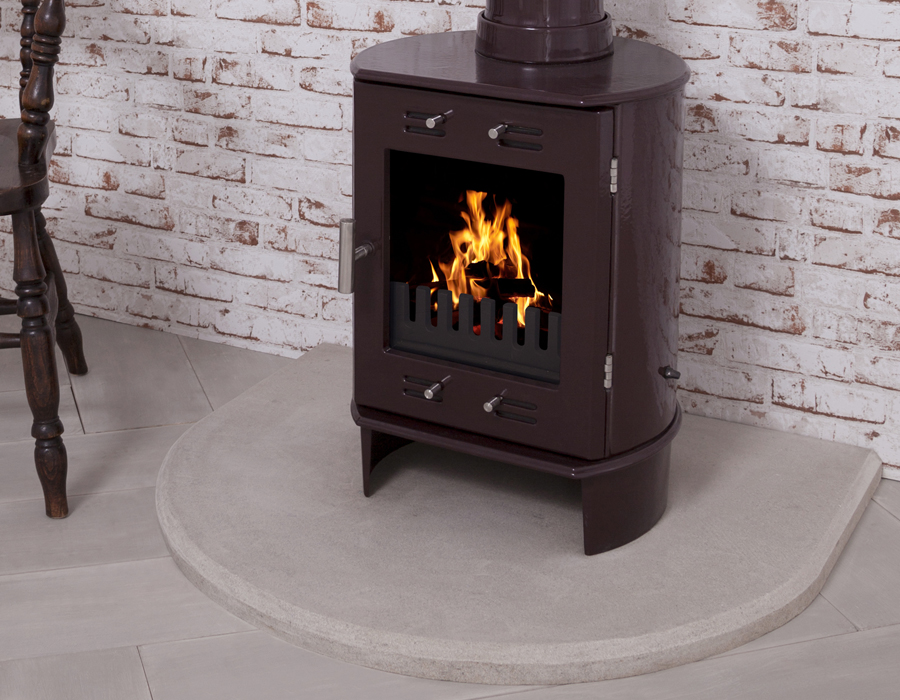 HEF293 Carron Stone Stove Hearth are available for next day delivery