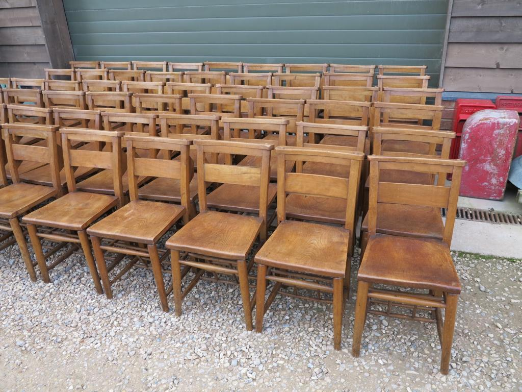 4 Available Original Church Chairs Dining Chapel Kitchen Chair Restaurant