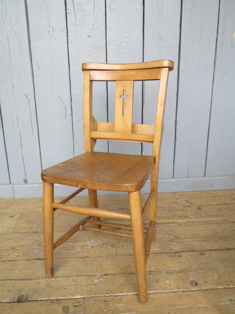 2 Available Church Chairs With Crosses In Back Kitchen Chair Restaurant Sea