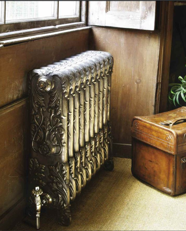 Cast Iron Ornate Chelsea Radiator made by Carron and Sold Worldwide by UKAA