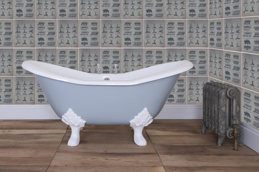 Cast Iron HUR039 Enamel Baths made by Hurlingham and Sold Worldwide by UKAA