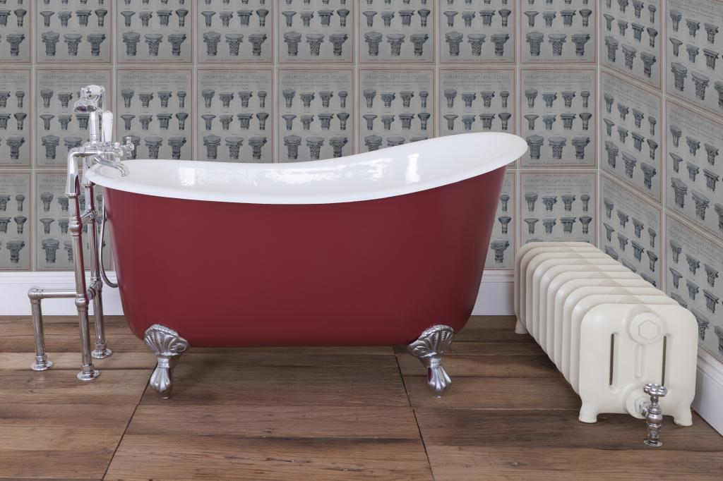 Cast Iron Enamel Baths made by Hurlingham and Sold Worldwide by UKAA