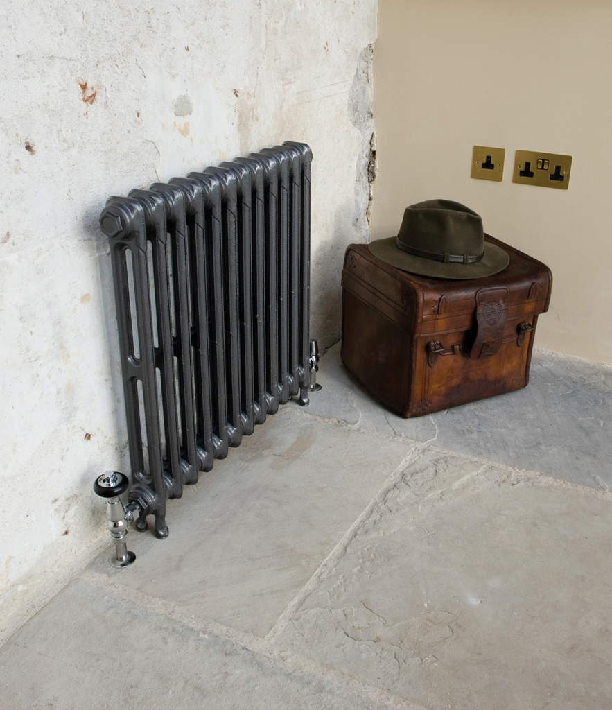 Cast Iron 2 Column Victorian Radiator made by Carron and Sold Worldwide by UKAA