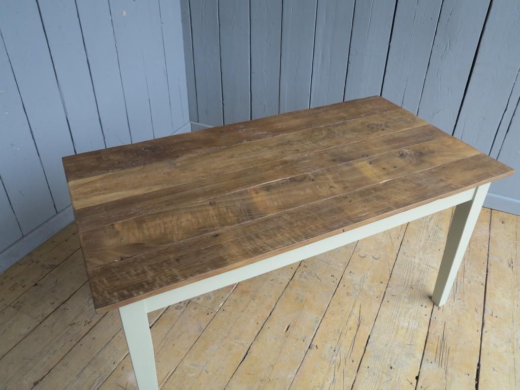 Handmade Wooden Topped Kitchen And Dining Tables - Reclaimed oak table top