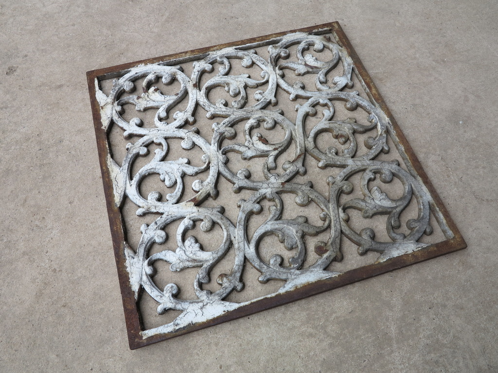 traditional antique cast iron floor vents, Church grilles and floor vents in stock and can be viewed in our warehouse in Staffordshire