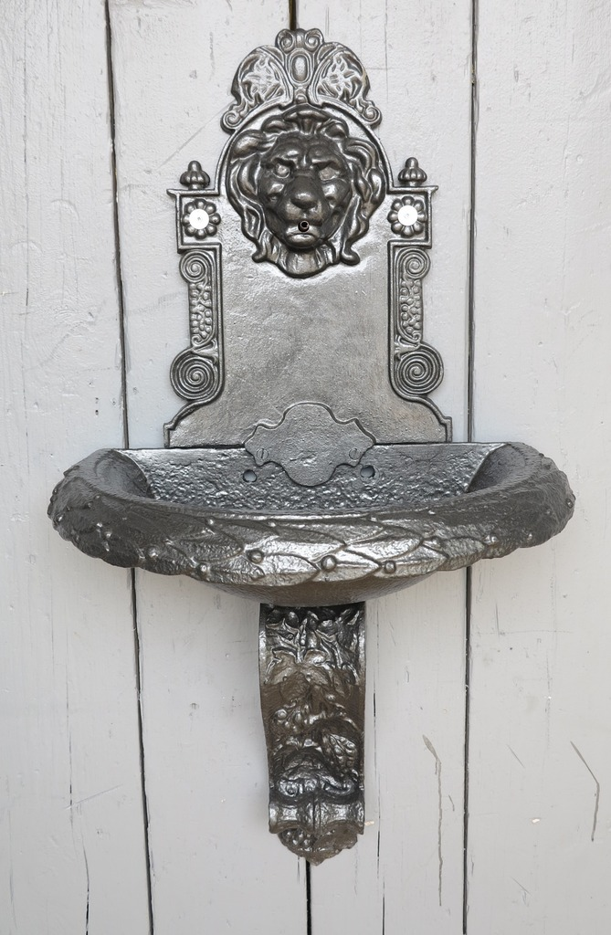 antique original Victorian water fountains and features made from cast iron can be wall mounted and view in our Staffordshire based reclaim yard.