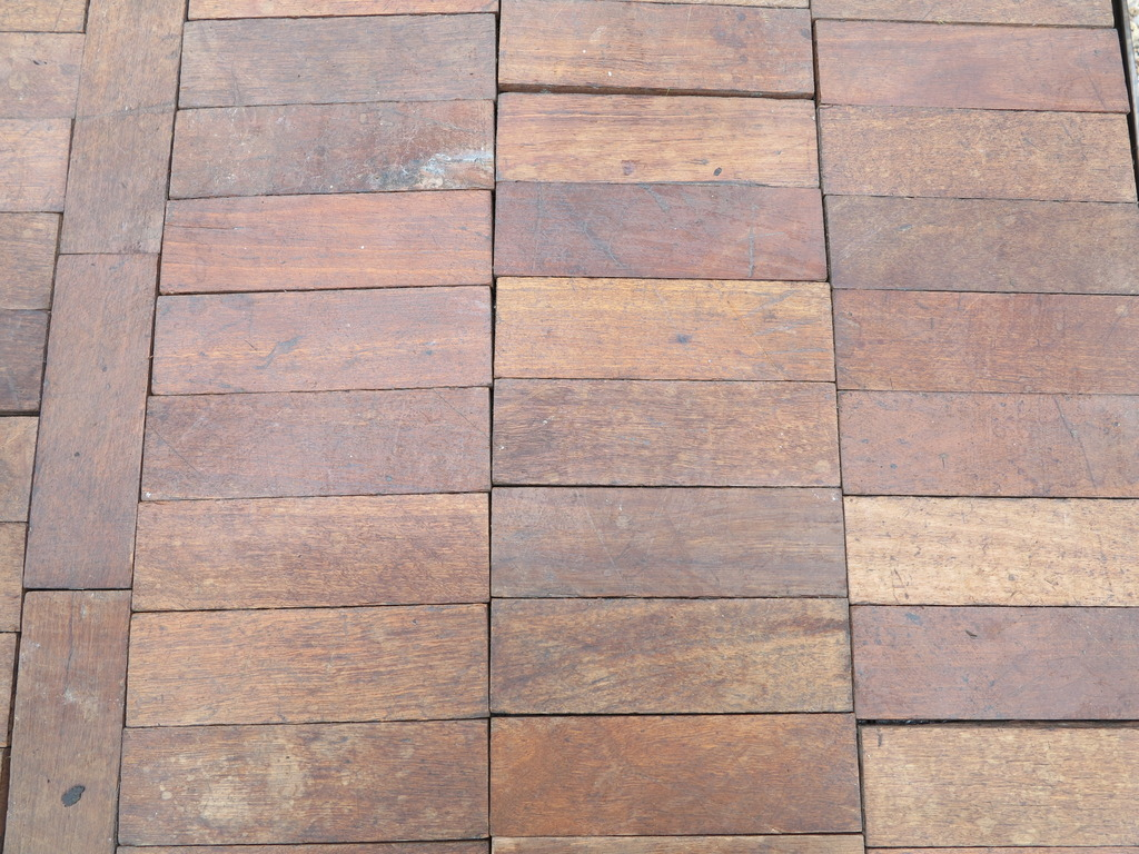 Reclaimed parquet flooring is for sale in pieces ready to be fitted into your old fashioned Victorian property