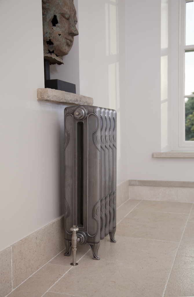 Your radiator heat output might recommend you have a smaller radiator
