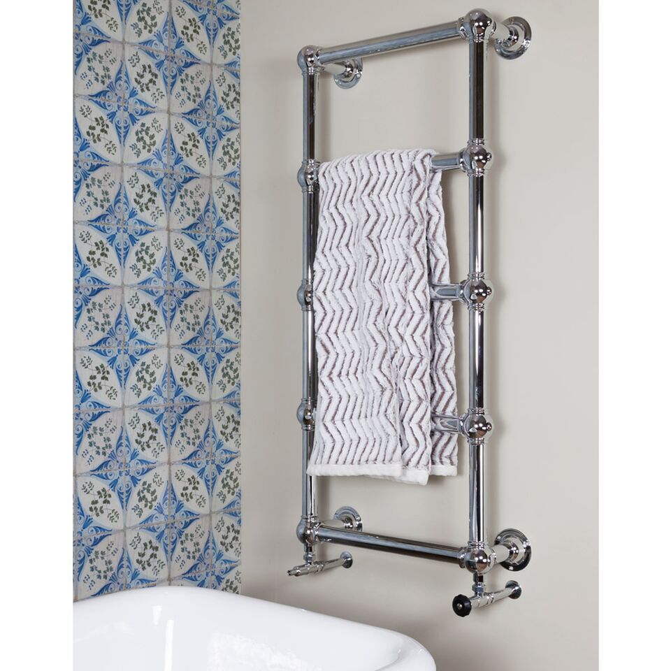 The Carron Colossus TOW032 5 Bar Chrome Finish Towel Rail are in stock ready for next day delivery