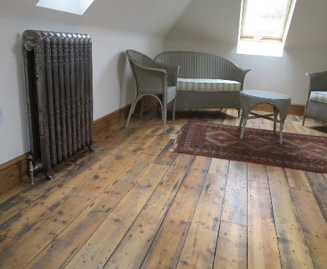 We Supply Antique original Victorian Reclaimed Floorboards Fitted