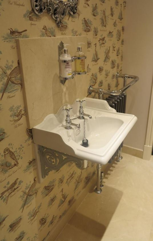 Thomas Crapper Sink And Taps Are Available For A Next Day Delivery