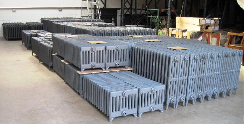 Cast Iron Radiators are made by Carron and Sold Worldwide by UKAA Ready for a next day delivery