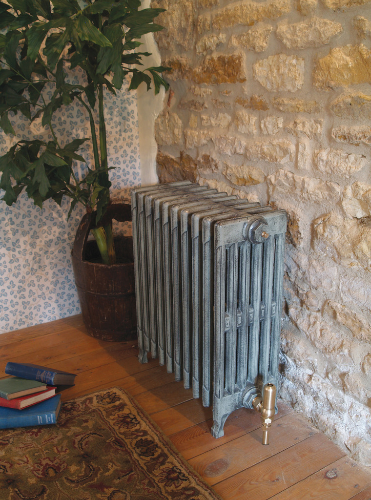 Cast Iron 6 Column Victorian Radiator made by Carron and Sold Worldwide by UKAA