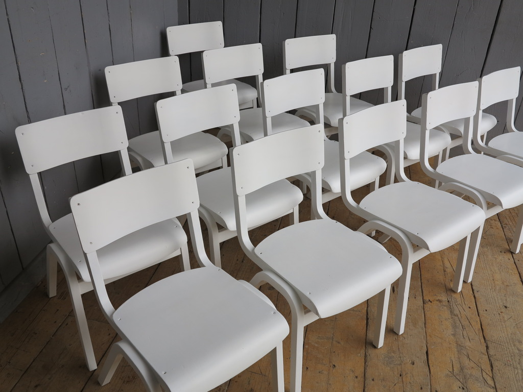 Industrial Style Hand Painted Chairs