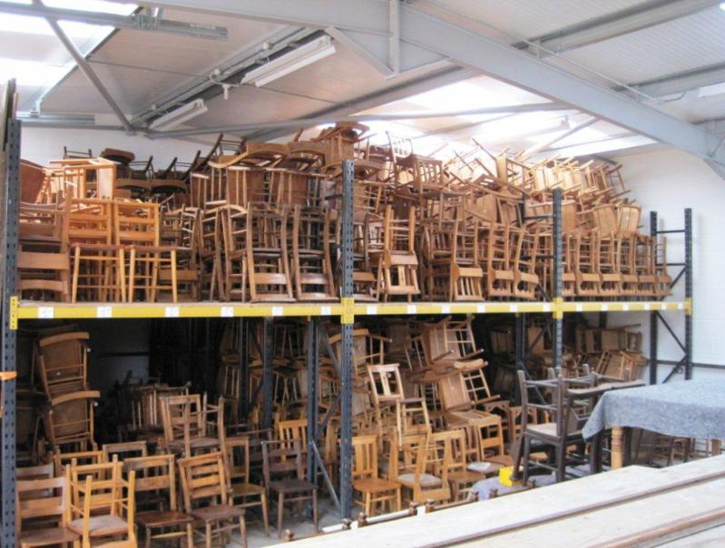 we have a large range of Church Chapel and school chairs fully refurbished here in our workshops and available to view in our warehouse