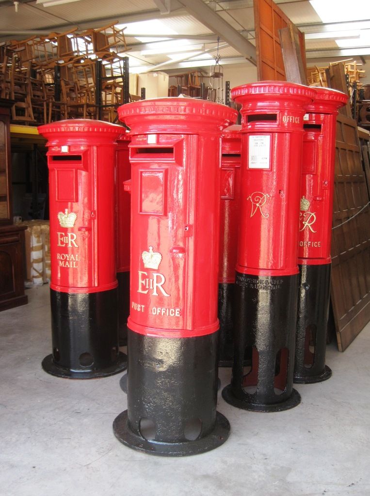 Original Post Boxes And Pillar Boxes