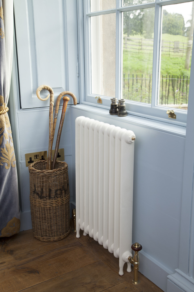 Cast Iron Narrow Eton Radiator made by Carron and Sold Worldwide by UKAA