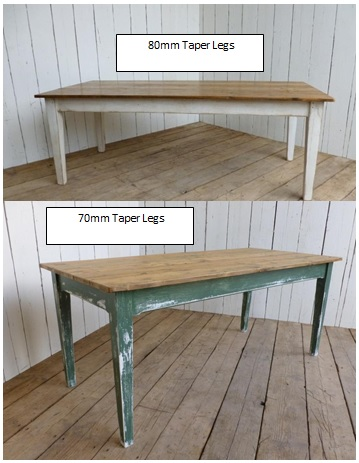 Floorboard Table different leg