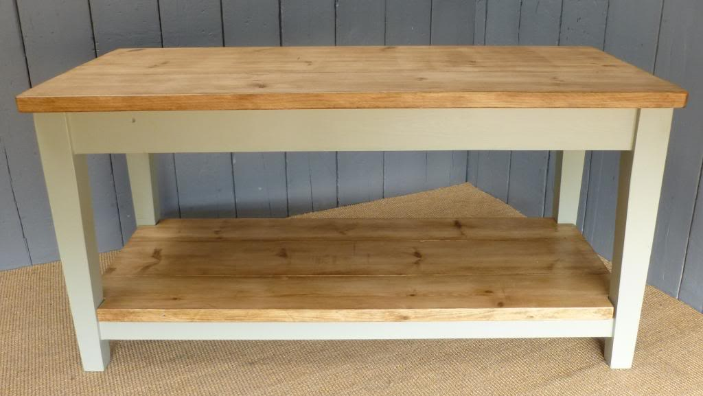 Hand Painted Reclaimed Bespoke Console Table