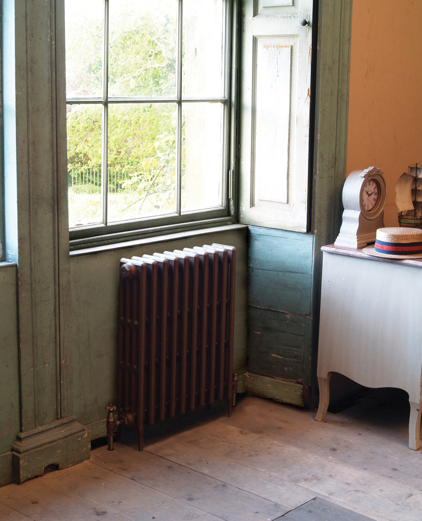 Carron traditional style cast iron radiators  built and pressure tested in stock and available for immediate collection or delivery worldwide