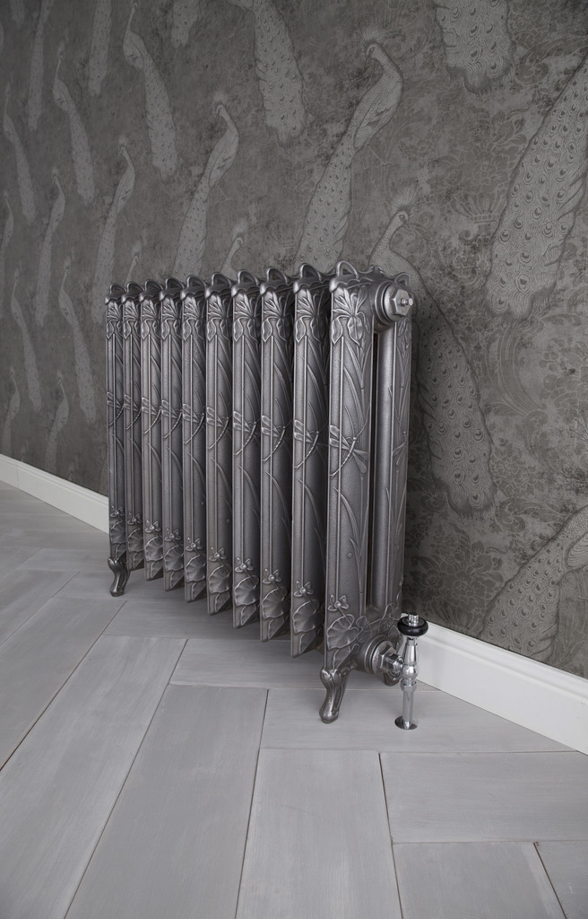 Cast Iron Dragonfly Radiator made by Carron and Sold Worldwide by UKAA