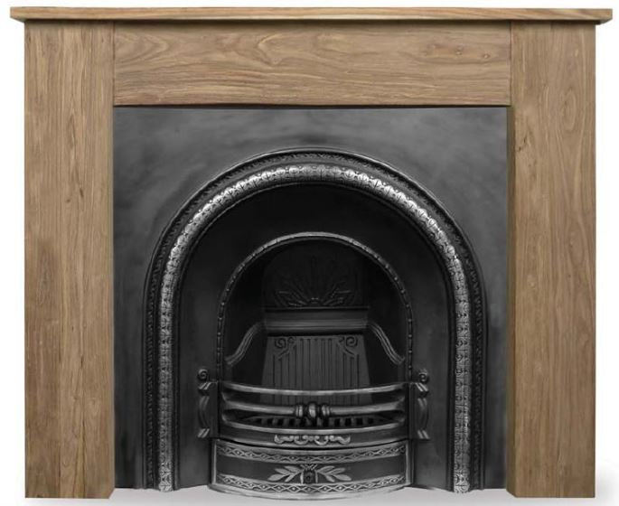 Carron Falkirk style highlighted cast iron fireplace inserts are made traditionally out of original moulds and are available to view in our showroom