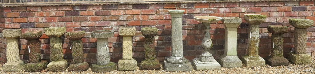 Traditional Antique Reclaimed Stone Bird Baths Available to View and Buy at UK Architectural Antiques