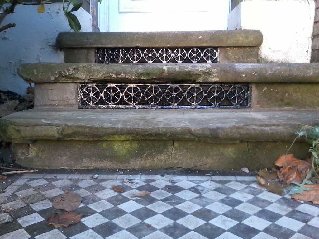 original antique cast iron floor grilles, church gratings and floor vents are fully refurbished and ready for use in Victorian and Georgian properties
