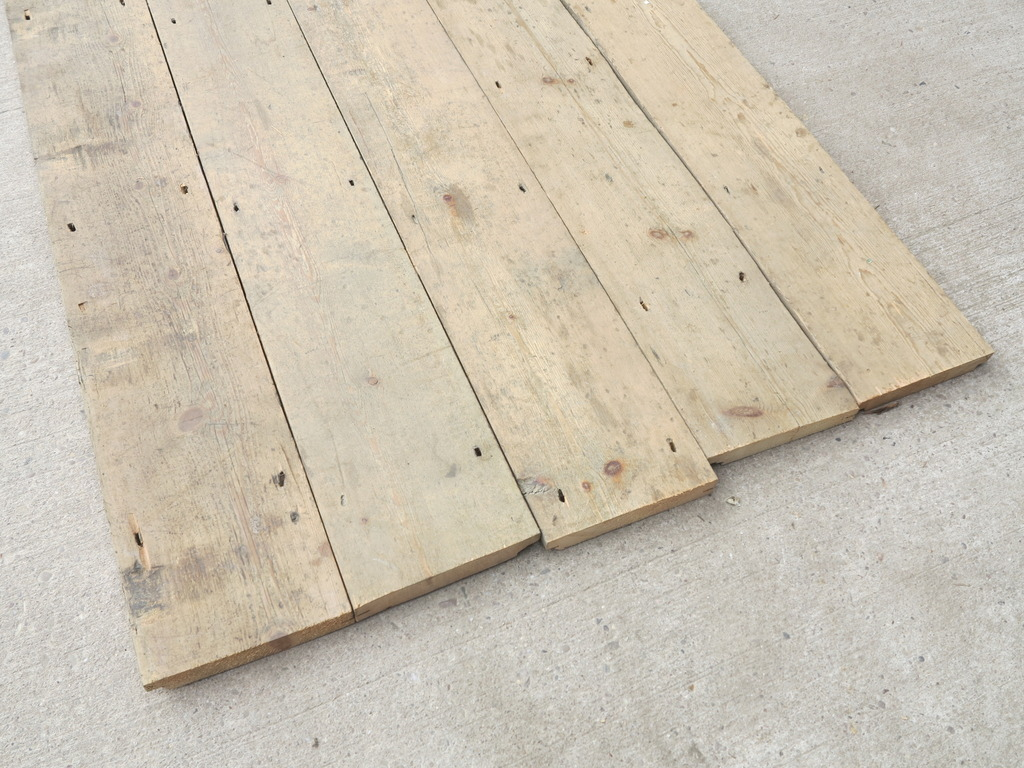Reclaimed Vintage Pine Old Wooden Flooring for Sale Online and at UKAA in Staffordshire.
