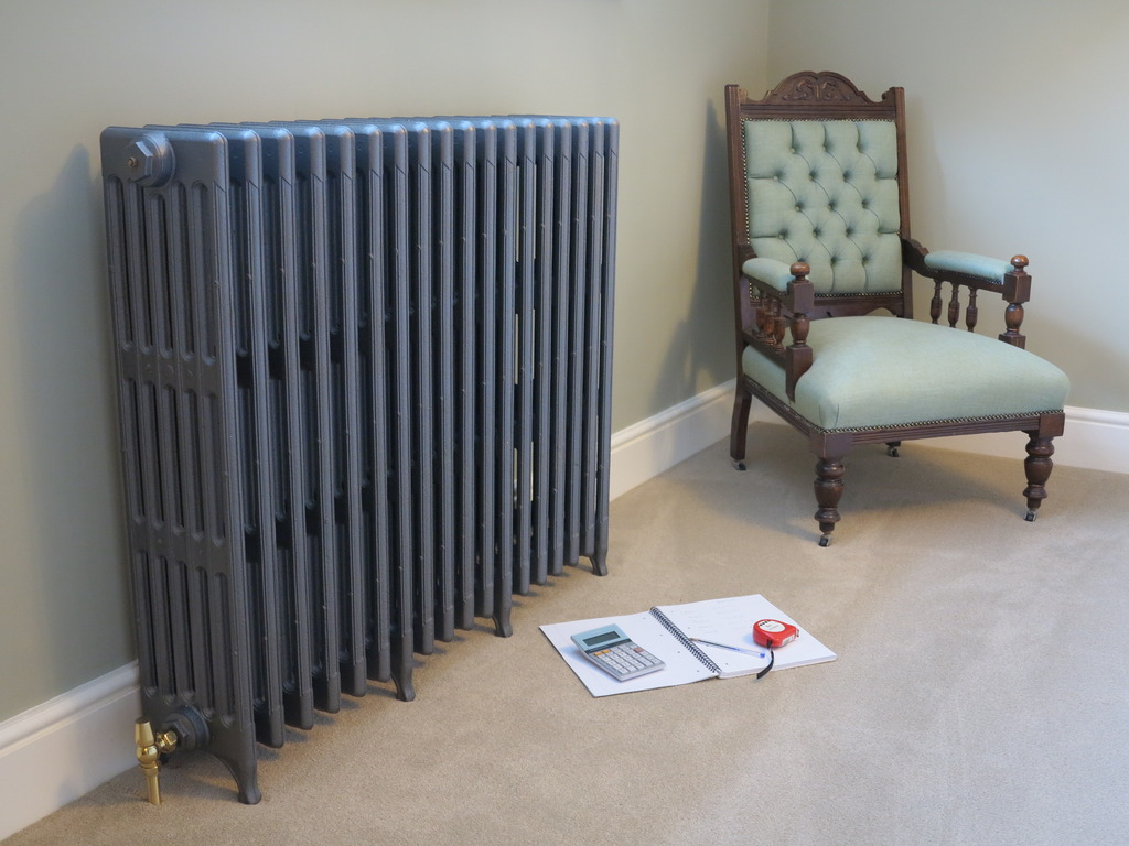 Traditional Style Cast Iron Radiators Made to Your Sizes and Your Delta 60 BTU and Watts Calculations
