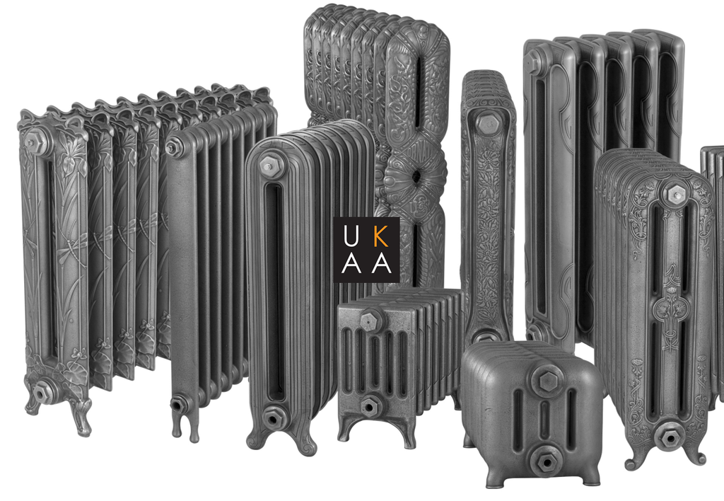 traditional cast iron old style Carron column Victorian radiators small ornate and tall slim line options available to suit period properties or modern homes