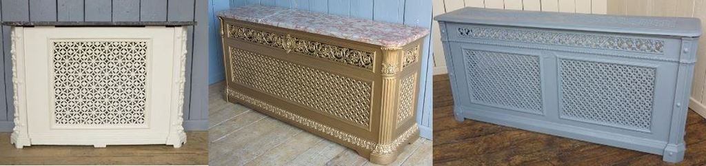 Reclaimed Cast Iron Radiator Covers