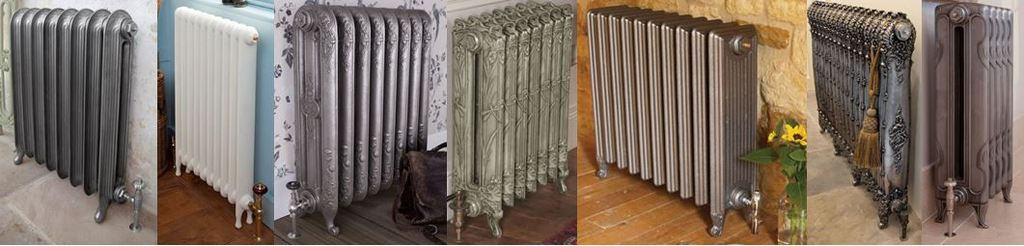 New Carron Cast Iron Column Radiators Available to order Bespoke to Suit your Requirements, Including Traditional Victorian Style Radiators.