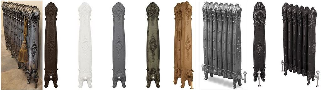 Decorative Carron Cast Iron Antoinette Radiator Which is an Ornate and Highly Decorative Column Radiator Ideal for Modern Properties and Period Homes.