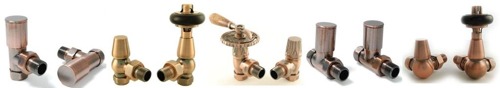 View and Buy Cast Iron Radiator Valves such as the Antique Copper Manual Faringdon and Milan are Ideal for Cast Iron Radiators and Towel Rails