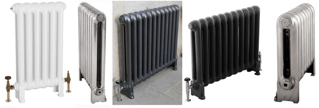 New For Sale Carron Cast Iron Cromwell  Reproduction Radiators at UKAA, Based on Reclaimed and Old Victorian Salvaged Cast Rads ideal for Contemporary homes.