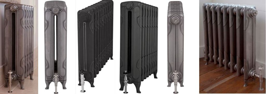 New Carron Column Liberty Cast Iron Radiators for Sale at UKAA based on Old Reclaimed Cast Iron Victorian Radiators Ideal for Victorian Style Properties