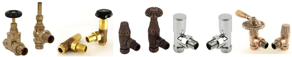 Buy Traditional Manual Radiator Valves For Cast Iron Radiators at UKAA