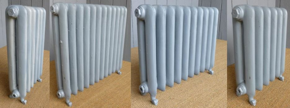 Buy Ready Made Carron Duchess Style Cast Iron Radiators in a Primer Finish Which are In Stock and Ready for Collection or a Next Day Delivery