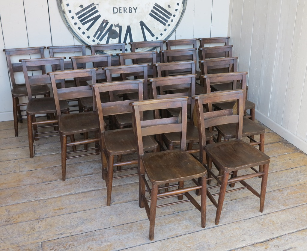 Buy Antique Church and Chapel Chairs full refurbished and ready for use domestically in kitchens & dining rooms or commerically in pubs, restuarants & cafes