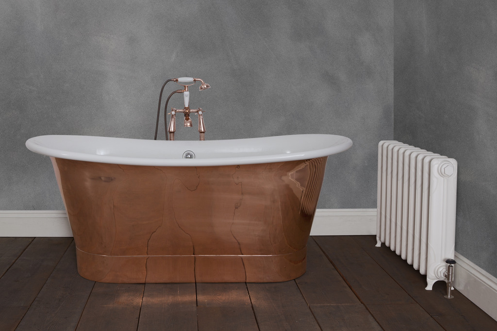 Copper bath similar to one in Big Brother house