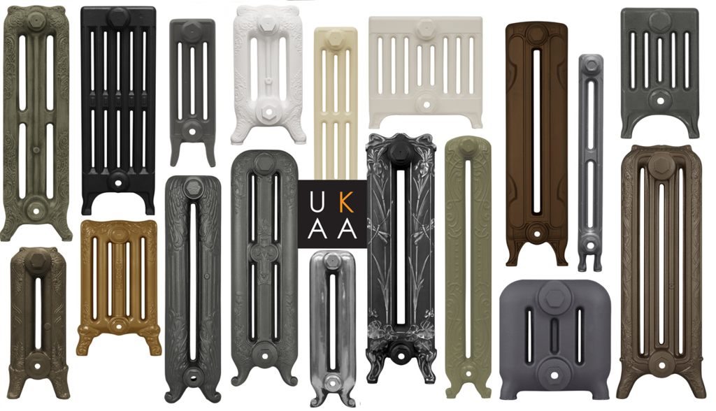 Cast Iron Radiators in Various Heights Made and Finished to Your Exact Requirements