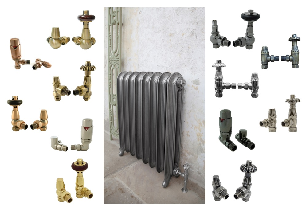 Trv Valve and Lockshield Valves Suitable for Old and New Radiators