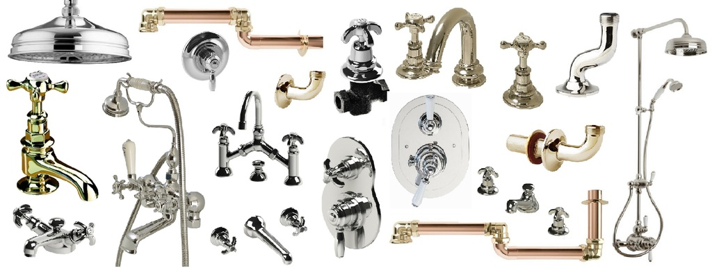 Thomas Crapper Brassware, Sink Taps, Bath Taps and mixer Taps In Stock at UKAA