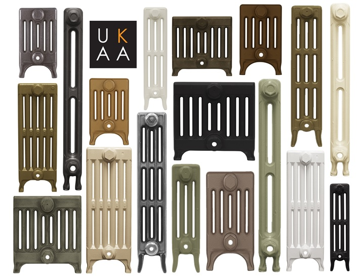 Victorian Radiators Made From Cast Iron