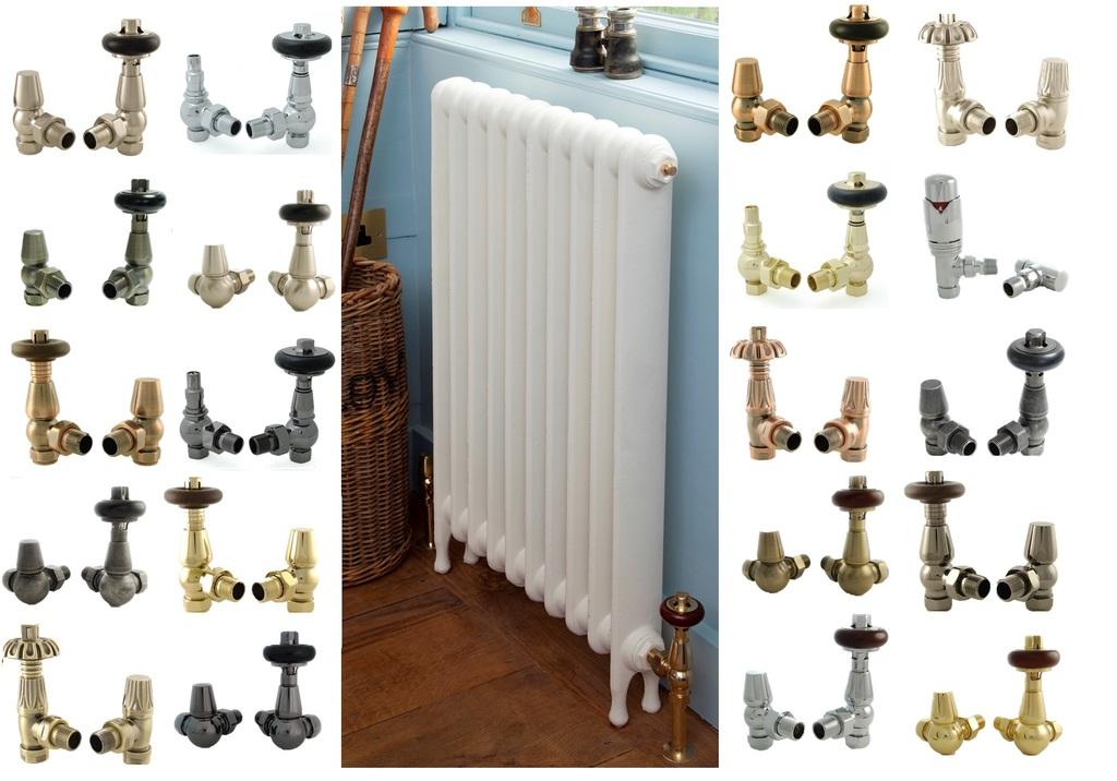 Traditional Radiator Valves Suitable for Old and New Radiators